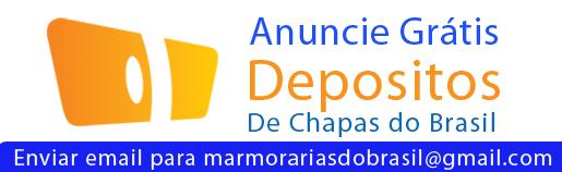 Anuncie Grátis o seu Deposito de Chapas de Mármores Granitos e Rochas Ornamentais