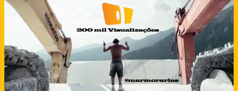 chegamos a 200 mil visualizações